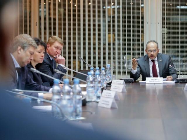 Заседание рабочей группы по защите прав участников долевого строительства